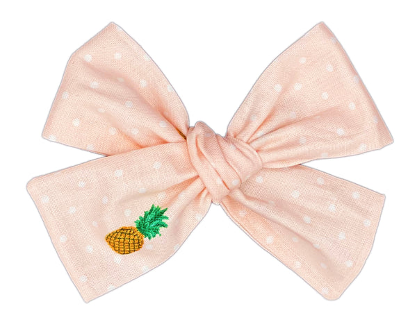 Pink Pineapple Punch Bow