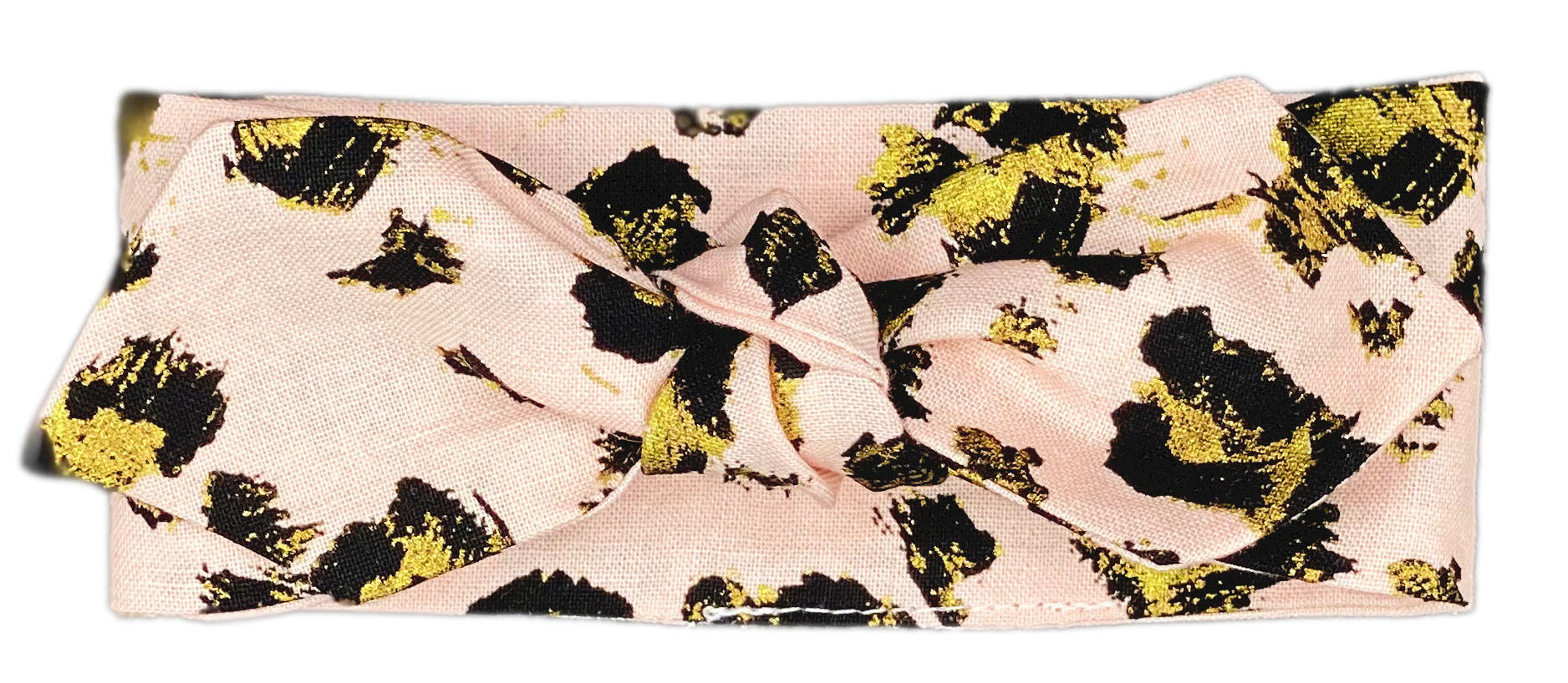 Rosé Gold Animal Print Neckerchief