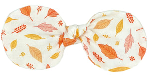 Autumn Leaves Bow