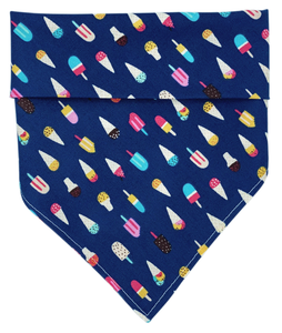 We All Scream For Ice Cream Dog bandana