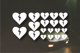 Broken Heart Sticker Pack