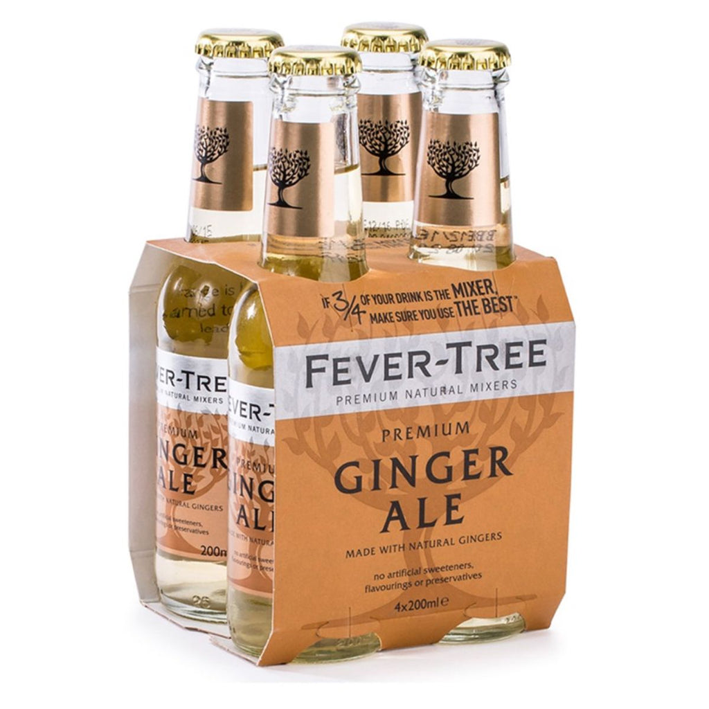 Fever-Tree Ginger ale 20 cl tonic 4 pack -BoozdUp