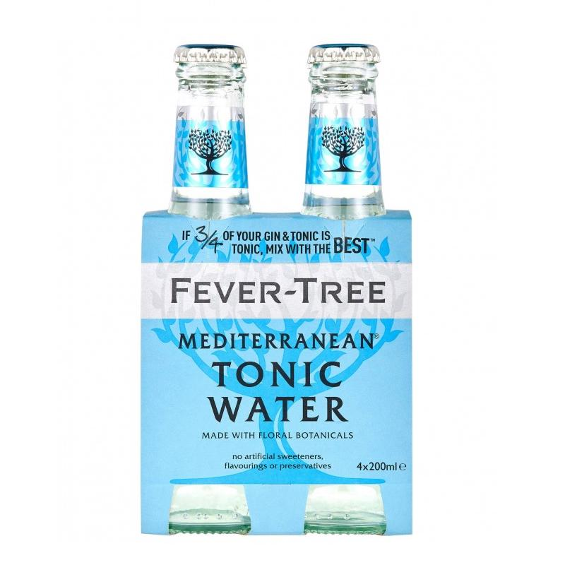 Fever Tree Mediterranean Tonic Water 20 Cl 4-Pack-BoozdUp