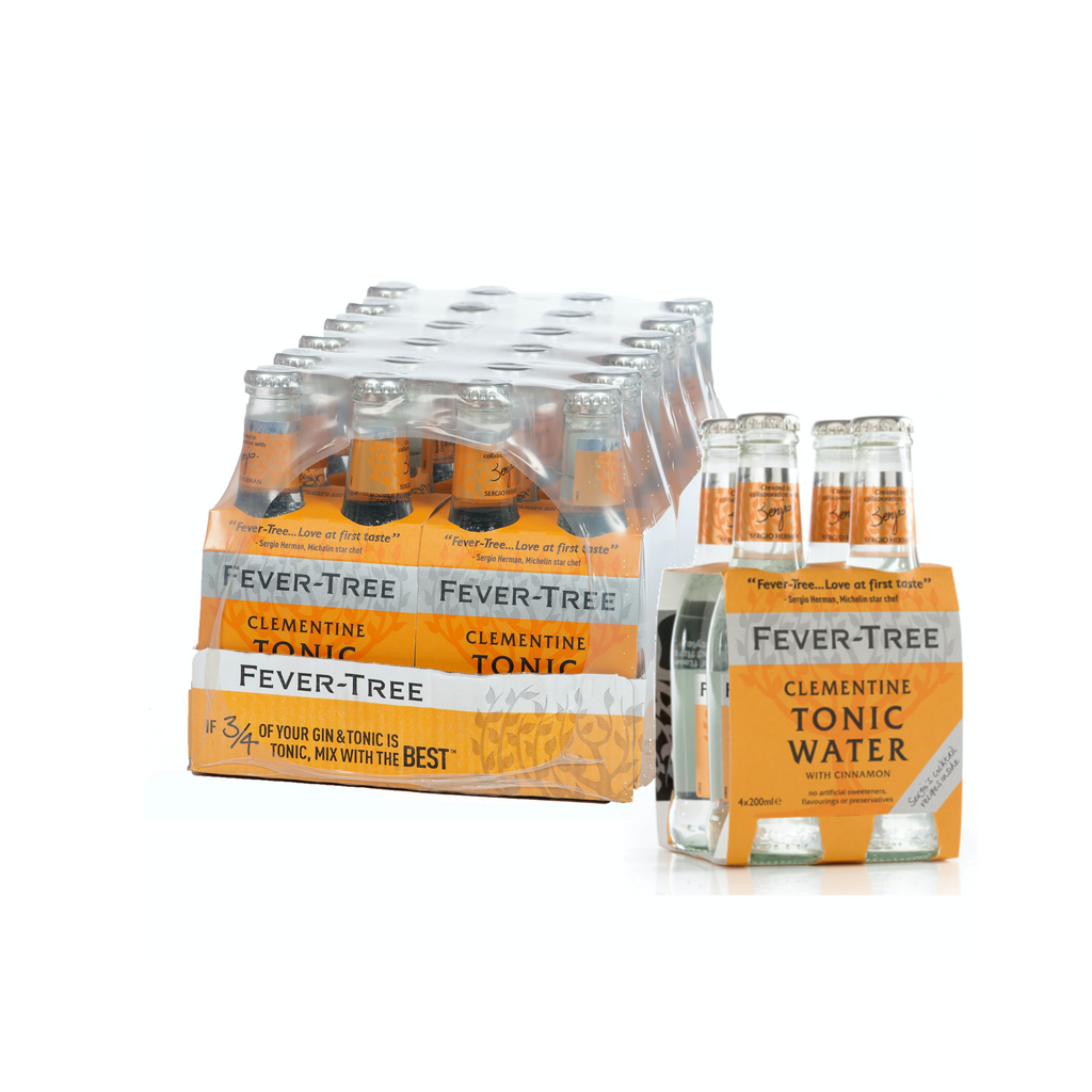 Fever-Tree Clementine Tonic 20cl (24 stuks) | Fever-Tree Clementine Tonic 20cl (24 pièces)-BoozdUp