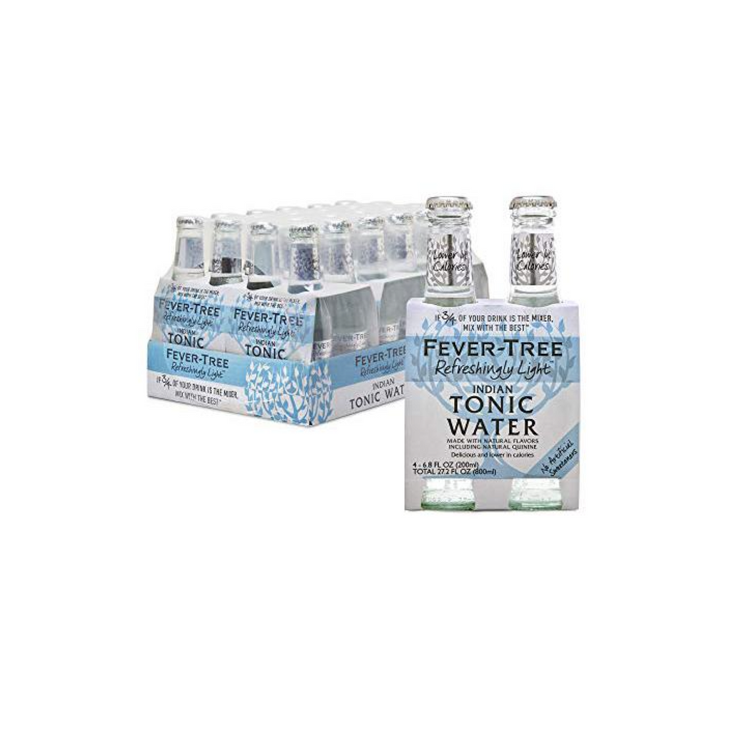 Fever-Tree Refreshingly Light 20cl (24 stuks) | Fever-Tree Refreshingly Light 20cl (24 pièces)-BoozdUp
