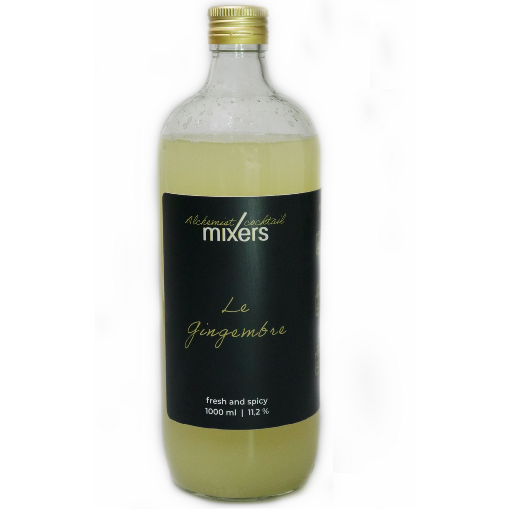 Alchemist Bottled Cocktail mixers Le Gingembre 1000 ml 11,2° kopen bij BoozdUp € 29 99