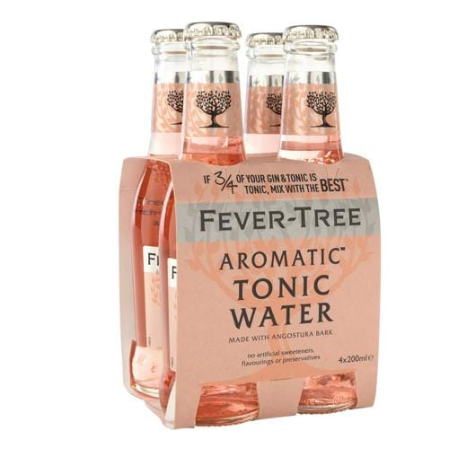 Fever Tree Aromatic Tonic Water 20 Cl 4-Pack-boozdup-be