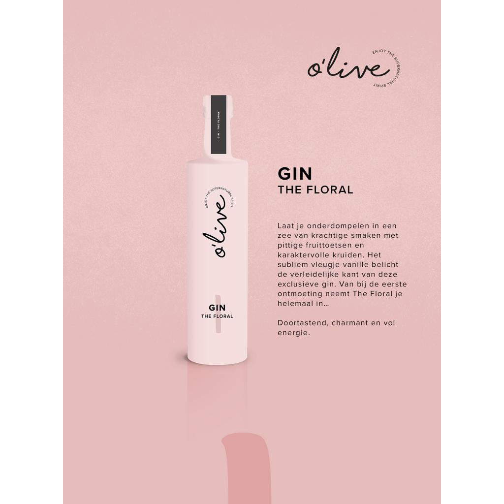 O'live Gin The Floral 40° 50 cl