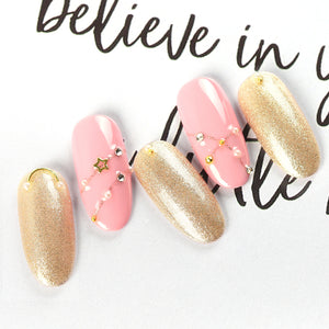 Try our Pearl Luster Nail Gel Polish for a bling look !!!