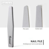 Shelloloh Professional Nail Art Tools Set Manicure Nail Art Nail Files Nail Polish Remover Pads