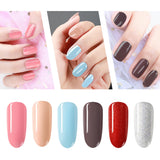 Shelloloh 36W Nail Lamp 6 Colors Nail Gel Nail Drill Machine 10ml Top Base Coat Nail Art Tools Kit Nail Decoration