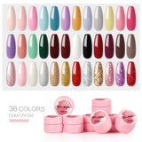 1pc UV Nail Gel 5ml 36 Colors Selection