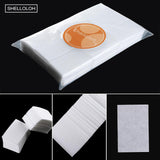 Shelloloh 900pcs Nail Wipe Cotton Pads Makeup Wipes Cosmetic Manicure Remover Cleaning Tool