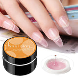 Shelloloh 15ml Pink White Clear UV Gel Soak off Gel Nail Extension