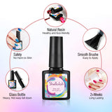 Shelloloh 10ml 10/20 Color Nail Polish Gel Nail Lamp Nail Art Tools Decoration Starter Kit