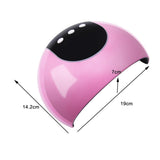 24W LED UV Gel Curing Lamp Nail Gel Dryer Lamp Nail Art Salon