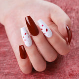 Use Home Use Shelloloh 8pc Nail Gel Soak Off Gel Nail Lamp Kit Manicure Decoration Kit Top Base Coat Easy To Use