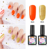 Shelloloh Nail Gel Nail Polish 2 Colors 10ml Nail Varnish Soak Off