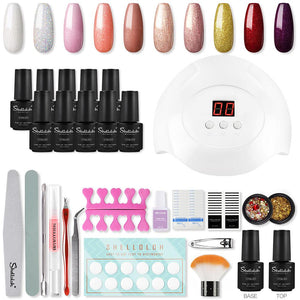 Nail Art Kit Gel Polish At Home DIY Nail Design