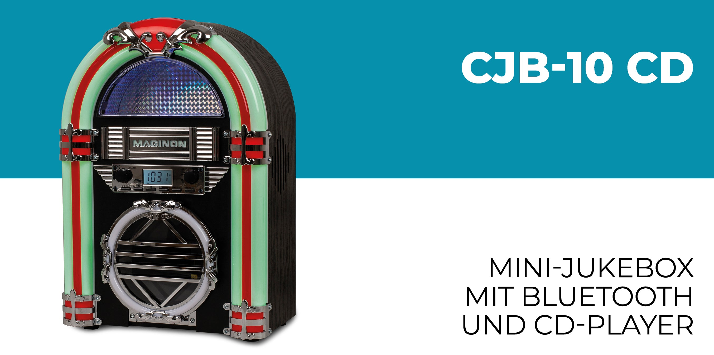 Maginon CJB-10 CD Jukebox