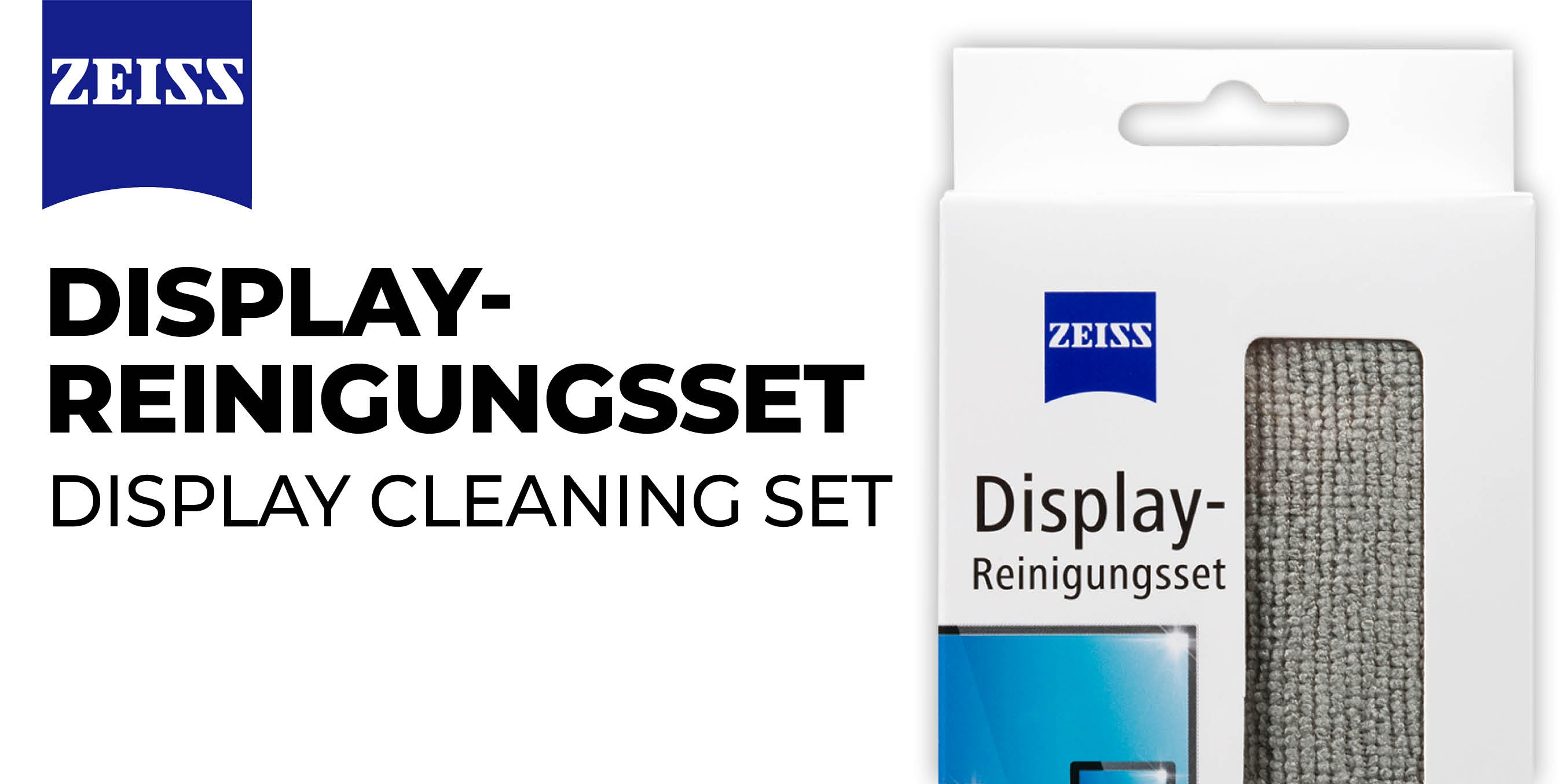 Display Rinigungsset von ZEISS
