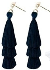 VIBE Out Layered Tassel Earrings