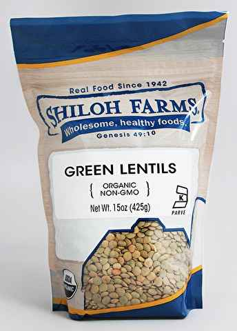 French Green Lentils - 15 oz
