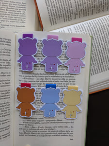 Magnetic bookmarks - Care Bears, Osos Amorosos