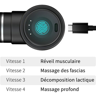 Pistolet de Massage <br> Booster Mini