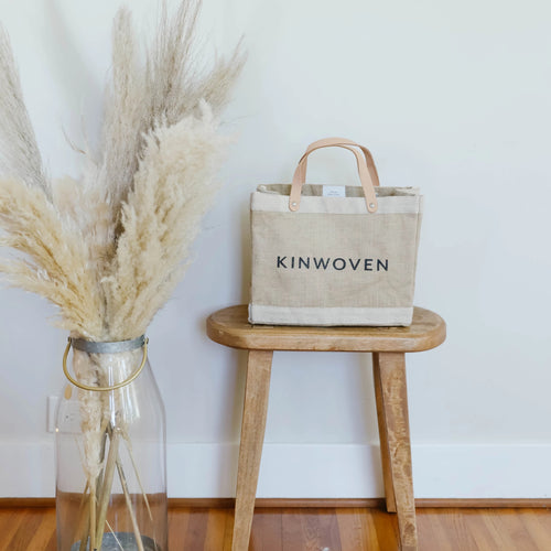 Kinwoven x Apolis Lunch Bag