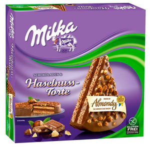 ALMONDY MILKA Chocolate Hazelnut Cake