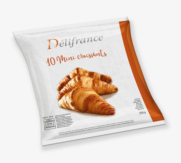 Retail Pack 10 Mini Butter Croissant - PROMO SALE 25% CHECK OUT