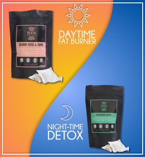1 Month Detox Tea Treatment - 2 Pack Day & Night