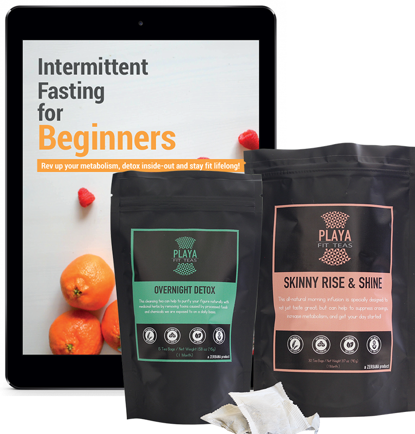 1 Month Fasting Transformation - 2 Pack Day & Night + Prep Materials
