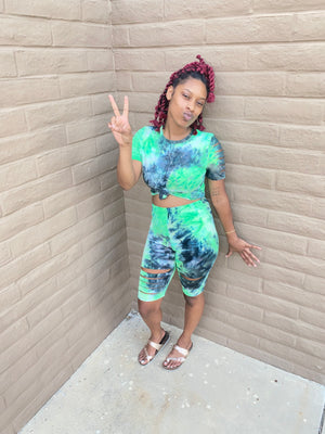 TYE DYE 2 PIECE SET