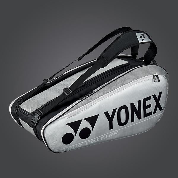 Yonex 92029 (Silver) 9pk Badminton Tennis Racket Bag