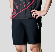 Load image into Gallery viewer, Yonex Men's Slim Fit Woven Shorts (Black) 201PH007M
