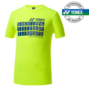 Men's Round T-Shirt (Neon Yellow) 99TR010M
