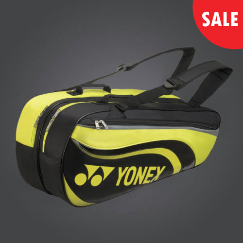 Yonex 8826 (Black/ Lime) 6pk Badminton Tennis Racket Bag