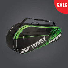 Load image into Gallery viewer, Yonex 4626 (Black/ Lime) 6pk Badminton Tennis Racket Bag