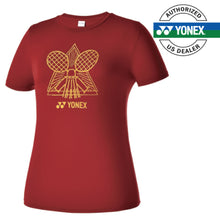 Load image into Gallery viewer, Women's Round T-Shirt (Wine Red) 99TR013F