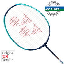 Load image into Gallery viewer, Yonex Nanoflare Junior (Blue / Green) Pre-strung