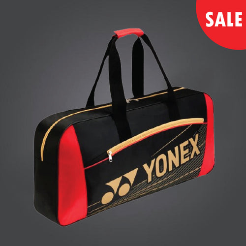 Yonex 4711 (Black/ Red) Badminton Tennis Racket  Tournament Bag