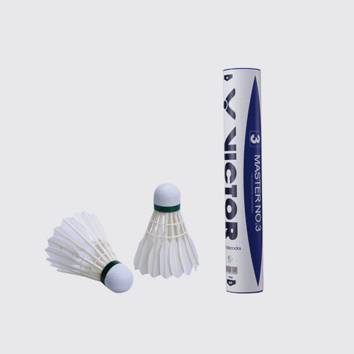 VICTOR Master NO.3 Feather Shuttlecock - JoyBadminton
