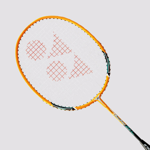 Yonex Muscle Power 2 Junior (Bright Yellow) Pre-strung - JoyBadminton