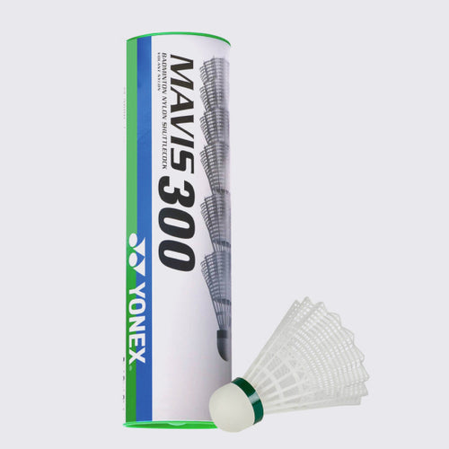 Yonex Mavis 300 / White/ Slow Speed / Nylon Shuttlecocks - JoyBadminton