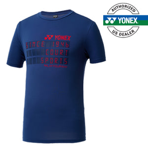 Men's Round T-Shirt (Morocco Blue) 99TR010M