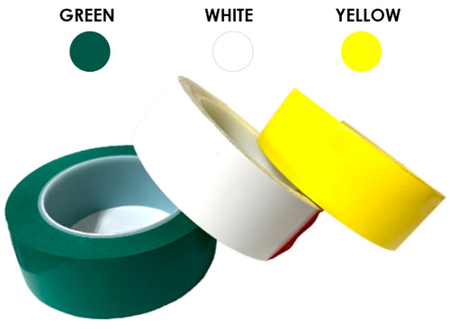 Badminton Court Line Marking Tape (3 Colors)