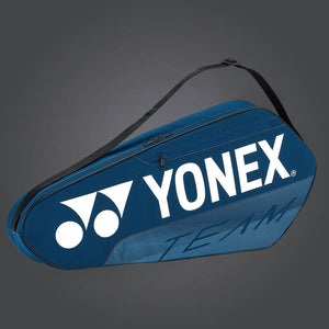 Yonex 42123 (Deep Blue) 3pk Team Badminton Tennis Racket Bag