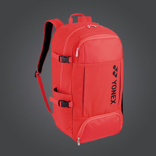 Yonex 82012L (Bright Red) Active Backpack Large Badminton Tennis Racket Bag
